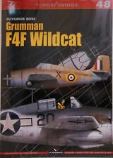 Kagero Publishing - Top Drawings 48 - Grumman F4F Wilcat - 20 Pages - (Book)