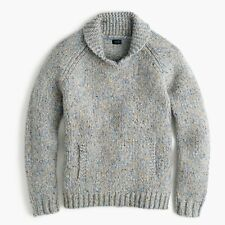 J. Crew Shawl Collar Irish Donegal Wool Sweater XS