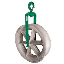 """Greenlee 8024 24"""" Cable Puller Hook Sheave Unit with 8,000 lbs Capacity"""