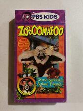 Zoboomafoo - Sense-Sational Animal Friends (VHS, 2001) - OOP RARE