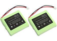 2 X TELEFON AKKU für MEDION MD81877 MD82772 MD82877 DECT Aldi Batterie Accu X072