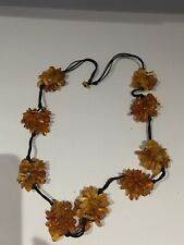 Stunning Unusual Design Amber Necklace