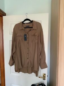 Marks and Spencer Blouse BNWT - Long Sleeve soft touch fabric SIZE 24