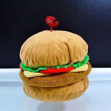 Krusty Krab Special Universal Studios SpongeBob SquarePants Plush Hamburger Patt