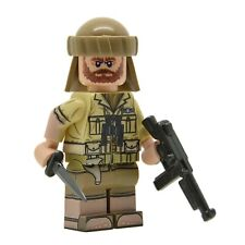 Lego Custom WW2 British SAS Full Body Printing NEW w/Brickarms Thompson