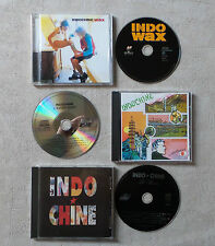 "CD AUDIO DISQUE FR/ LOT DE 3 CD ALBUM DE INDOCHINE ""L'AVENTURIER, LE BAISER, WAX"