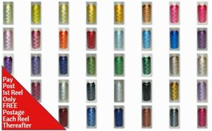 Marathon Embroidery Machine Thread Rayon 1000m Works well with Brother & Janome