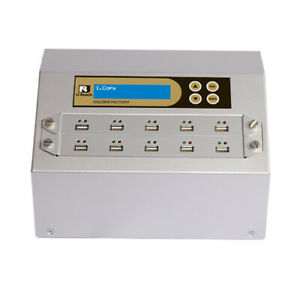 Ureach 1:9 USB Duplicator/Sanitizer 2GB/Min - Flash Drive Copier/Eraser UB910G