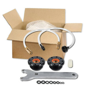 HS5157 Front Mount Hydraulic Steering Cylinder Seal Kit & Bleed Kit For Seastar