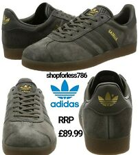 adidas Gazelle Originals Adult BB2754 grey Trainer Shoes Size 6 MENS 3 stripes