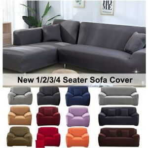 Elastic Stretch Sofa Cover 1/2/3/4 Seater Sofa Slipcover Couch Covers