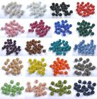 20 Pcs Quality Czech Crystal Rhinestones Pave Clay Round Disco Ball Spacer Beads