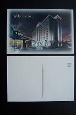 Harrah's Joliet Illinois Casino Unused Postcard