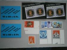 Schweiz Partie postfrisch unter Postpreis mit 4 Markenheftchen