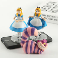Alice in Wonderland Cheshire cat PVC figure figures doll toy 3pcs dolls new