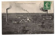 CPA 91 - ESSONNES (Essonne) 27. Vue d'ensemble des Papeteries (petite animation)