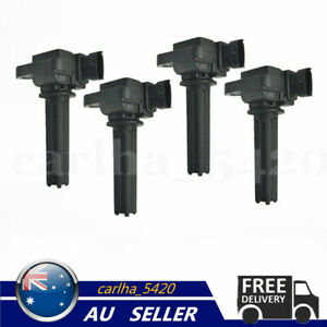 4Pcs Ignition Coils For Saab 2003-2011 Saab 9-3 2010-2011 Saab 9-3X 1.9 2.0 2.8