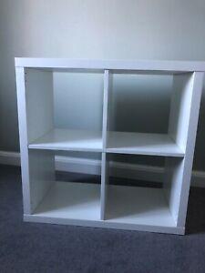 Ikea Kallax White box unit