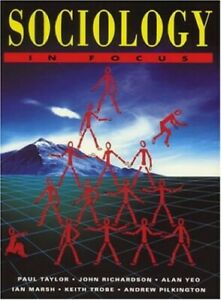 Sociology in Focus by Andrew Pilkington Hardback Book The Cheap Fast Free Post