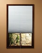 Achim Window Shade Blinds, Vinyl, Room Darkening Pleated Shades, NEW FREE SHIP