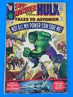 TALES TO ASTONISH #75 ~ Sub-Mariner & Hulk MARVEL SILVER AGE 1965 ~ FN-