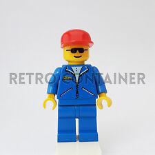 LEGO Minifigures - 1x jbl001 - Man - Jacket Town Omino Minifig 2140 6581 6562