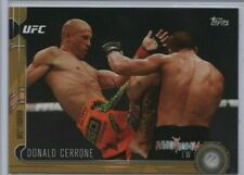DONALD CERRONE 2015 Topps UFC Chronicles GOLD 28/88