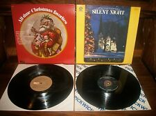 All-Time Christmas Favorites-George Beverly Shea-Silent Night-Record Album Lot