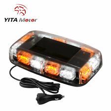 36 LED 30W LED Emergency Hazard Warning Strobe Light w/Magnetic Base Signal Lamp