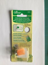 Clover Protect and Grip Thimble Small - ORANGE - CL6025