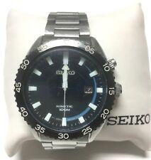 Seiko Men's SKA623 Dress Sport Analog Kinetic Japanese Quartz Silver Watch C46