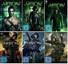 Arrow Staffel 1-6 (1+2+3+4+5+6) DVD Set Neu und Originalverpackt DC-Comics Serie