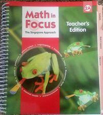 Math in Focus: Singapore Math: Teacher's Edition, Book A Grade 2 2009 by GREA…