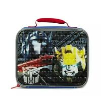 NEW NWT Transformers THE MOVIE Lunch Kit bag box soft vinyl FREE SHIPPING blue