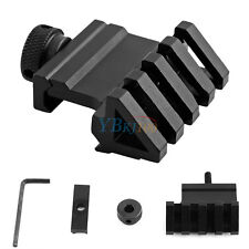 20mm Weaver Style Rail Mount Quick Release Tactics 45 Degree Angle Offset