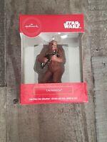 2019 Hallmark Red Box Christmas Tree Ornament Star Wars Chewbacca NEW