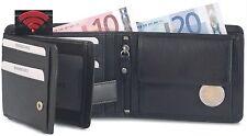 Bodenschatz Herren Geldbörse Herrenbörse Brieftasche mit RFID Leder Börse Neu
