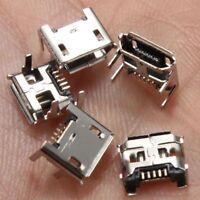 Mini 10pcs DIP 5 Pin Socket Soldering Type B USB Jack Port Charging Connector