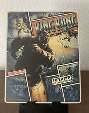 King Kong (Blu-ray/Dvd Disc, 2009) Limited Edition Steelbook!