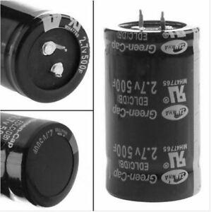 Ultra Capacitors 500F 2,7V 500 Farad Super Condensatore capacitore