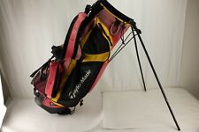 Lightweight TAYLORMADE GOLF STAND BAG 6-Way Dual Carry Straps