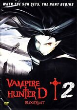 Vampire Hunter D Bloodlust 2  Japanese Animation HONG KONG ACTION MOVIE