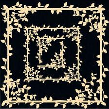 DUSTY ATTIC Chipboard de Vine Frame Set scrapbook embellishment DA0733 4pcs NEW