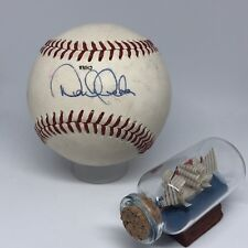 Scott Cooper Cardinals Red Sox Royals Signed Rawlings Vintage Off Nl Baseball Autographs-original
