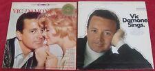 Vic Damone [Lot of 2 Vinyl LPs]: This Game Of Love / Vic Damone Sings