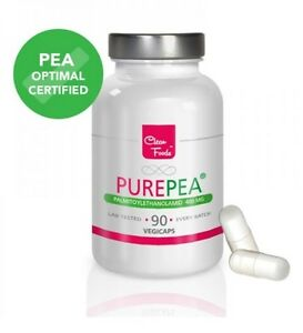 Pure PEA Palmitoylethanolamid 400mg 90 pflanzliche Kapseln PEA optimal certified