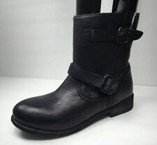 Zigi Soho Womens Black Leather Imrie Ankle Boots Shoe Size 9 M NEW!