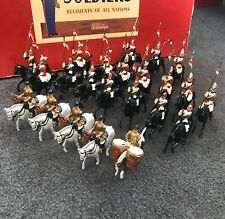 W Britains 2085 Musical Ride Household CAVALRY Lancers  ROAN Box!