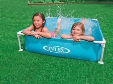 Intex Frame Pool Mini - Blau 57173NP