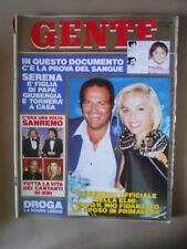 GENTE n°51 1989 Giovanna Elmi Rossella Falk Cristina D'Avena Zecchino [G67-1]